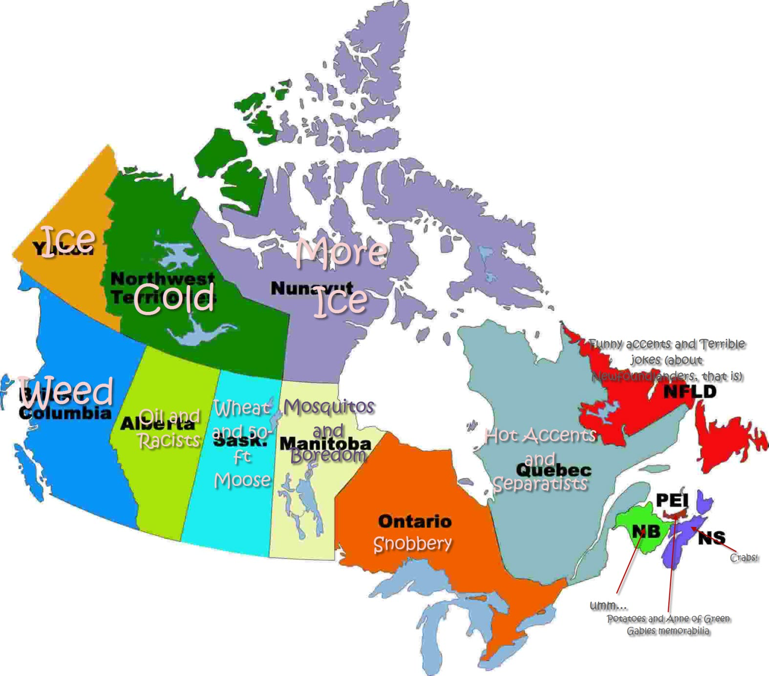 French Map Of Canada With Provinces And Capitals.Map Of Canada Provinces And Capitals