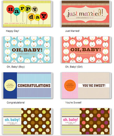 Agile image for free printable baby shower candy bar wrappers