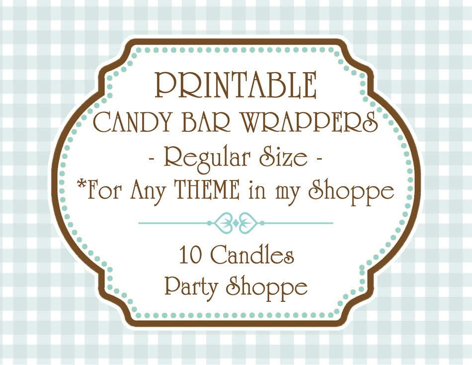 It's just a photo of Irresistible Free Printable Baby Shower Candy Bar Wrappers