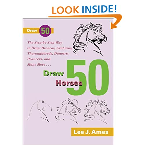 how to draw a horse jumping step by step easy