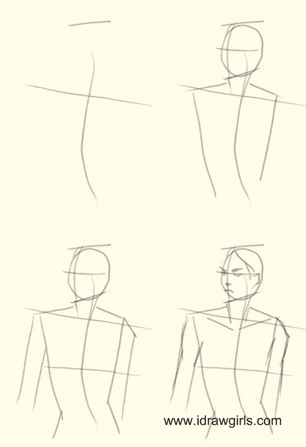 How To Draw Anime Body Step By Step