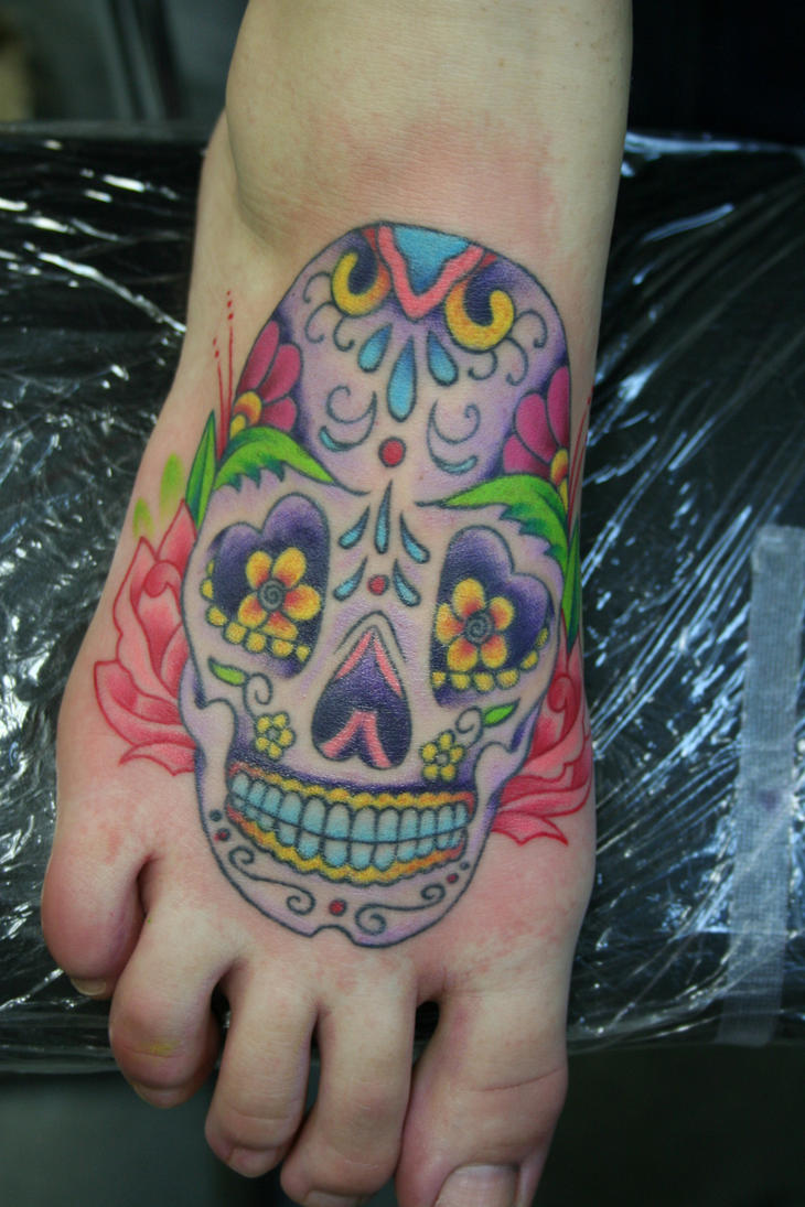 mexican candy skull tattoo meaning. Black Bedroom Furniture Sets. Home Design Ideas
