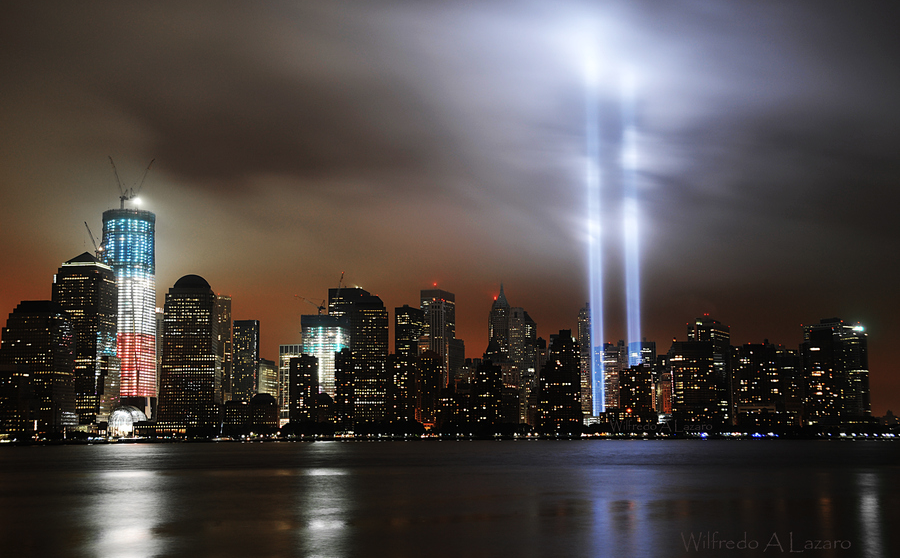 World Trade Center Memorial Lights